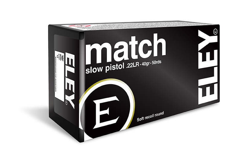 ELEY match slow pistol
